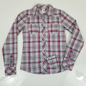 The North Face Shirt Long Sleeve Plaid B8